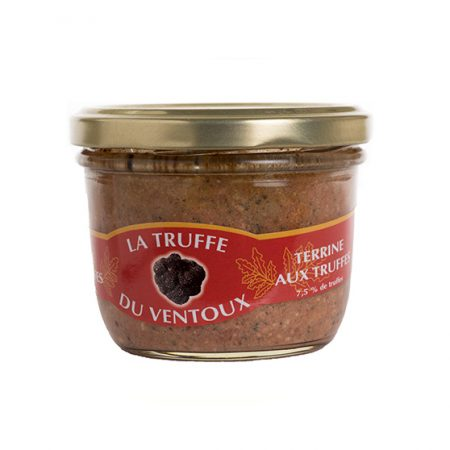 Terrine aux truffes 7,5% - La-Truffe-du-Ventoux