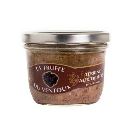 Terrine aux truffes 15% - La-Truffe-du-Ventoux